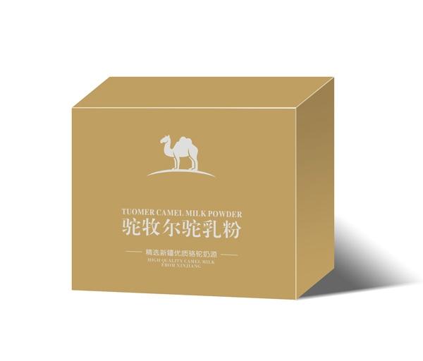 纯驼乳粉礼盒