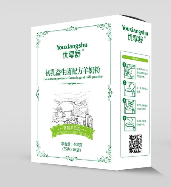 优享舒初乳益生菌配方羊奶粉