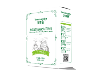 优享舒初乳益生菌羊奶粉